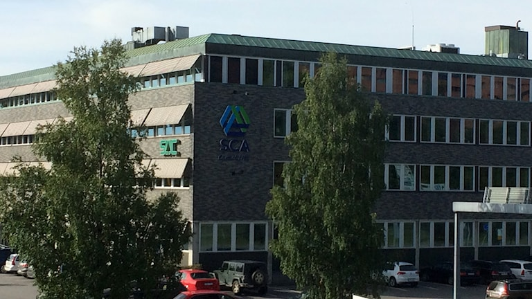 SCAs kontor i Sundsvall vid Röda torget. Foto: Christer Jonasson/Sveriges Radio