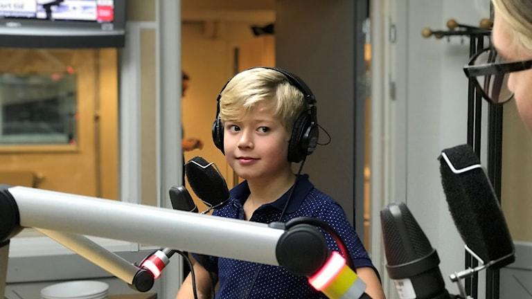 Gustav Sjödin 9 år