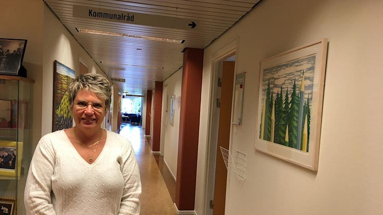 Åsa Sjödén (S), kommunalråd Sollefteå.