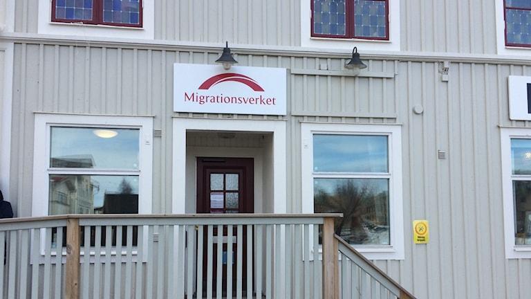 Migrationsverkets kontor i Härnösand. Foto Ulla Öhman