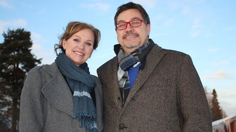 Gunilla Bergstrand och Björn Persson