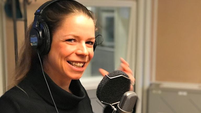 Tidigare skidåkaren Maria Rydqvist föreläser om jämställdhet.