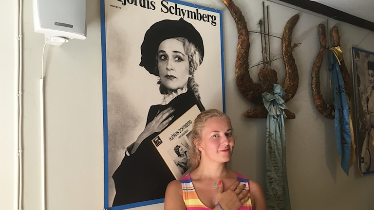 Albertina Melander Wiksten från Matfors gillar att sjunga opera