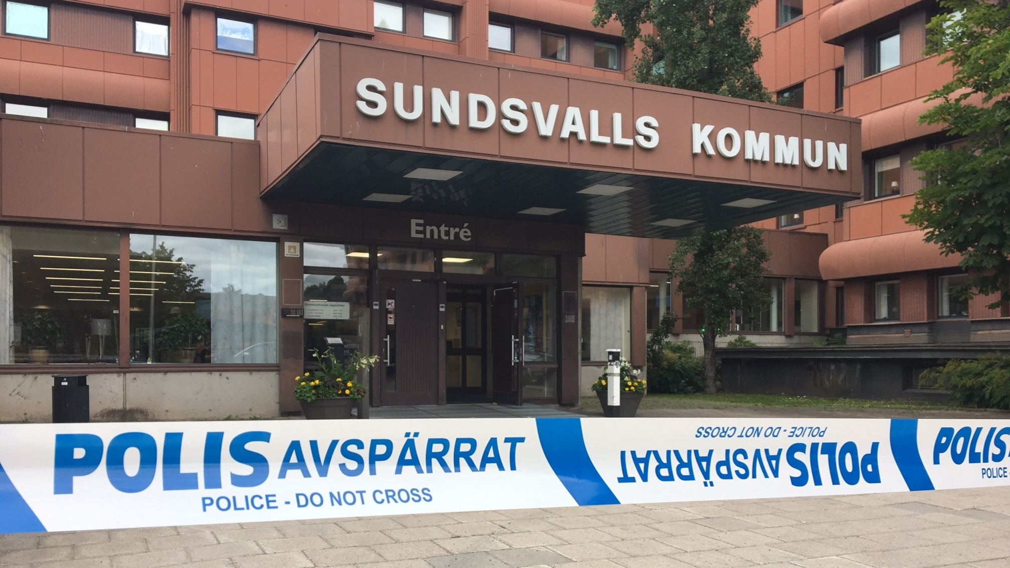 Kommunhuset I Sundsvall Avsparrat P4 Vasternorrland