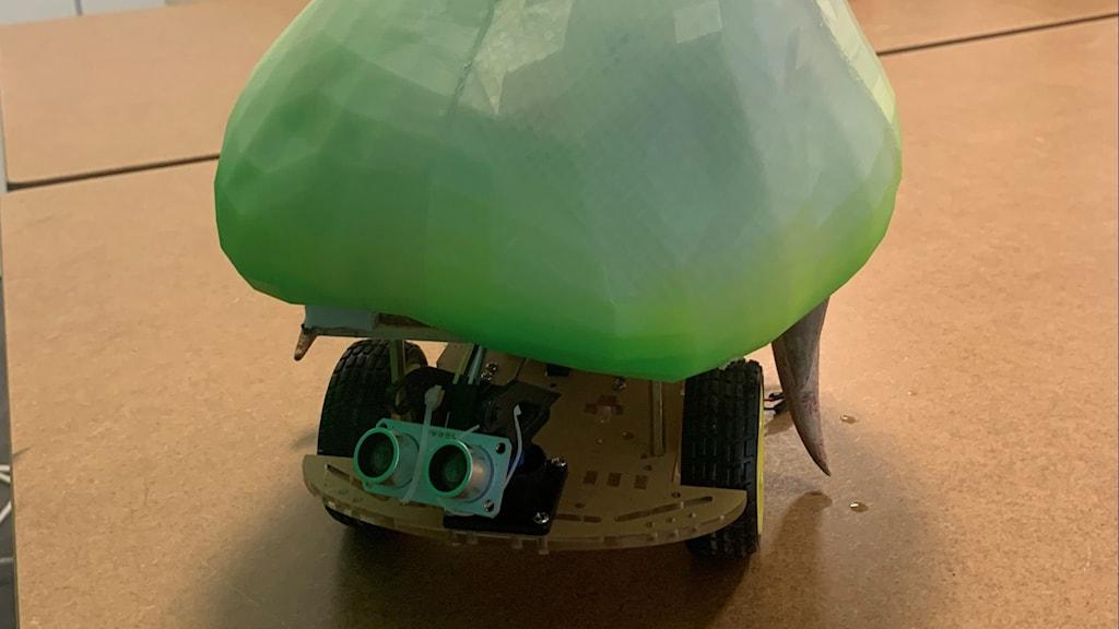 Grön robot