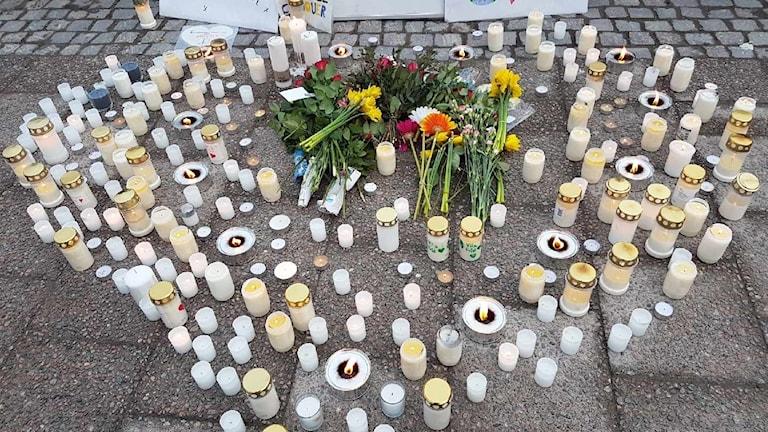 Manifestation i Sundsvall på måndag kväll.