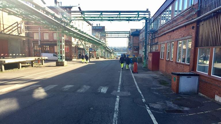 Akzo Nobel nedre fabriken Stockvik