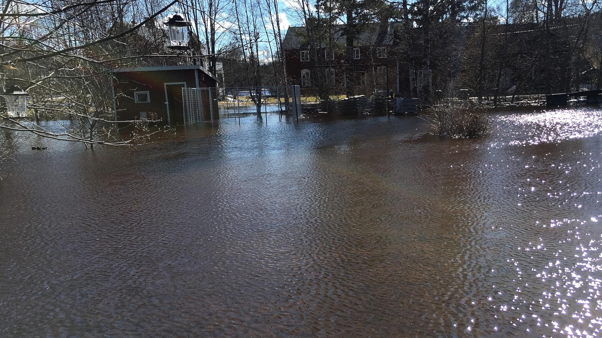 Varning för extrema vattenflöden vid Norrlandskusten