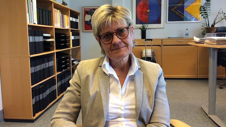 Nina Fållbäck Svensson, förvaltningschef för specialistsjukvården i länet.