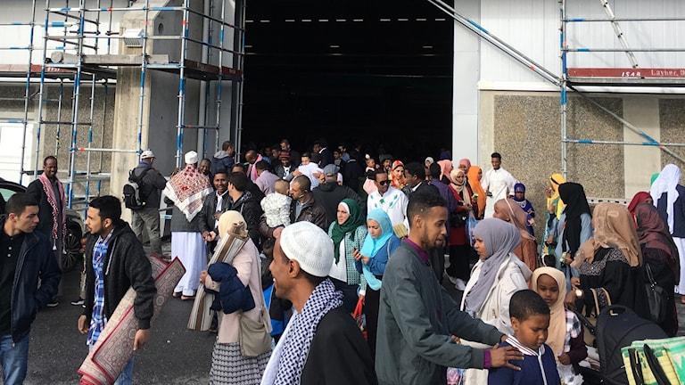 Eid al-adha i Sundsvall