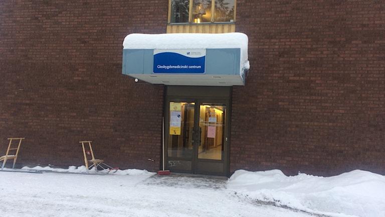 Glesbygdsmedicinskt centrum i Storuman. Foto Ulla Öhman