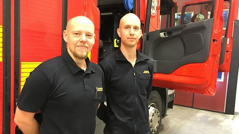 Jörgen Sejsing, Mårten Lundin, Räddningstjänsten Örnsköldsvik