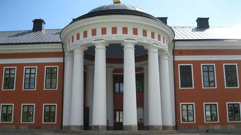 Här inne i rådhuset sammanträder kommunfullmäktige. Foto Ulla Öhman