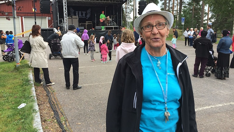 Lillemor Göransson, ordförande i Tallnäs Hyresgästförening och för Hyresgästföreningen region Norrland.