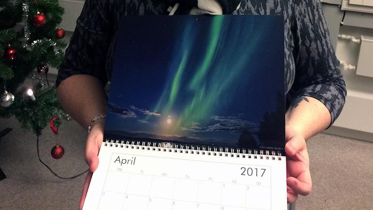 Sarah Nilsson har fotat en norrskensbild.