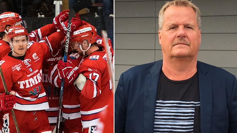 Timrå IK och Lars Backlund.