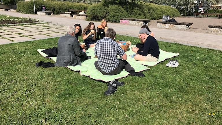 Ungdomar i Sundsvall har anställts för att lära sig mer om dmokrati och samhällsengagemang