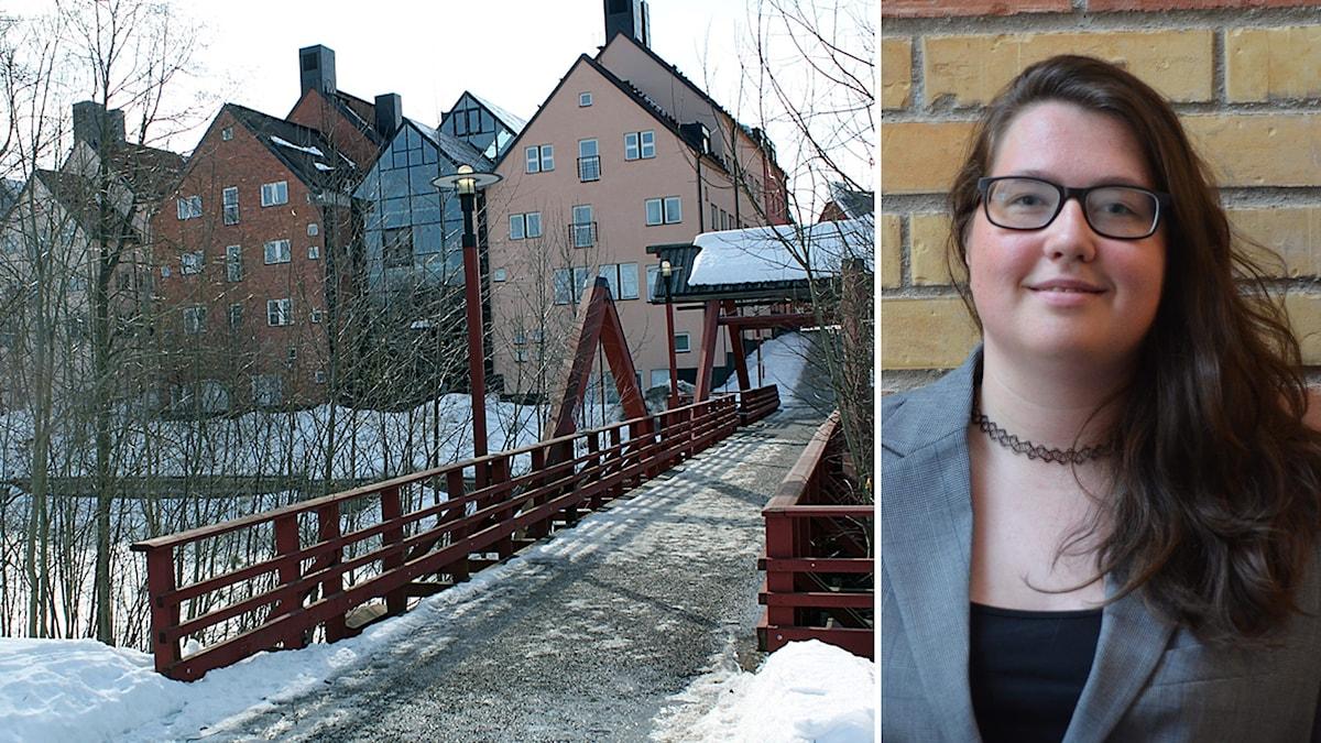 Rebecka McNeill är ordförande för Studentkåren vid Mittuniversitetet i Sundsvall.