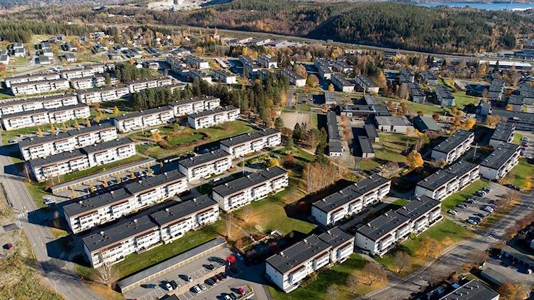 Överblicksbild Bosvedjan Sundsvall