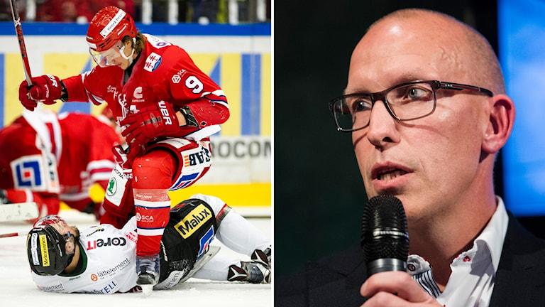 Timrå IK tränare Fredrik Andersson