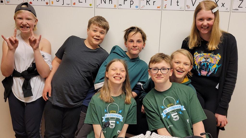 Sidensjöskolan klass 5 vidare till den lokala finalen i vi i femman.
