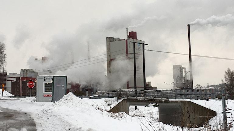 SCA:s pappersmassafabrik i Östrand, Timrå