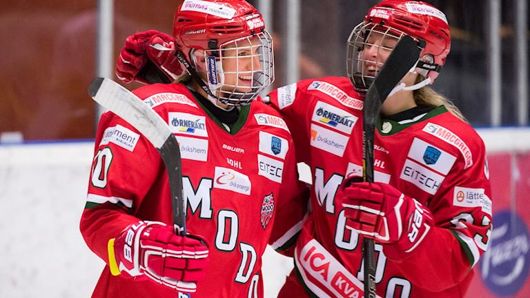 Jenelle Kohanchuk och Oliva Carlsson