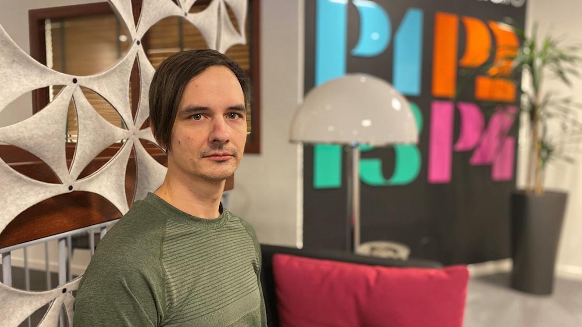 niklas evaldsson, ordförande, kultur och fritidsnämden i radiohuset i Sundsvall.