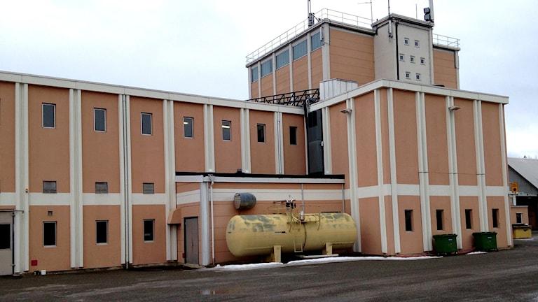 Akzo Nobels kloratfabrik i Alby utanför Ånge. Foto: Lotte Nord/Sveriges Radio