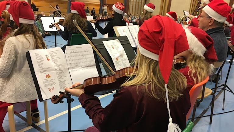 Kulturskolan i Ånge ger julkonsert