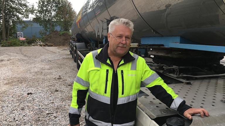 Leif Solander åkeriägare Sundsvall