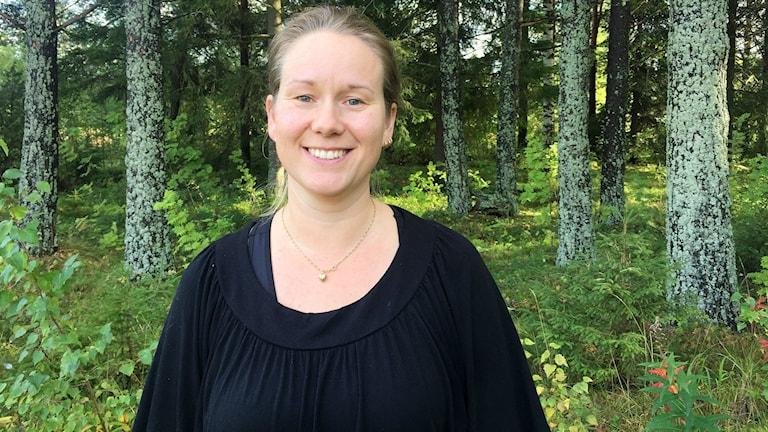 Linda Strid är marknadsutvecklare för bostadsbyggande i Timrå kommun.