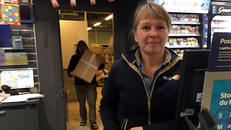 Gudrun Hellström, postombud i Sundsvall.