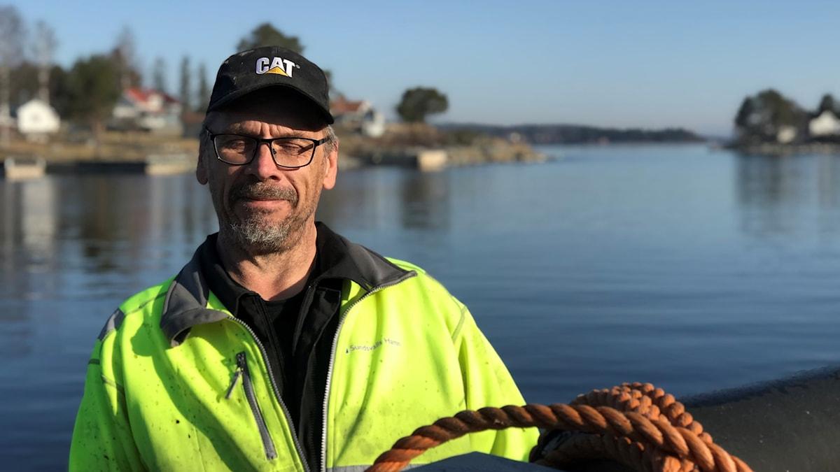Jan Pulkkinen, fiskare