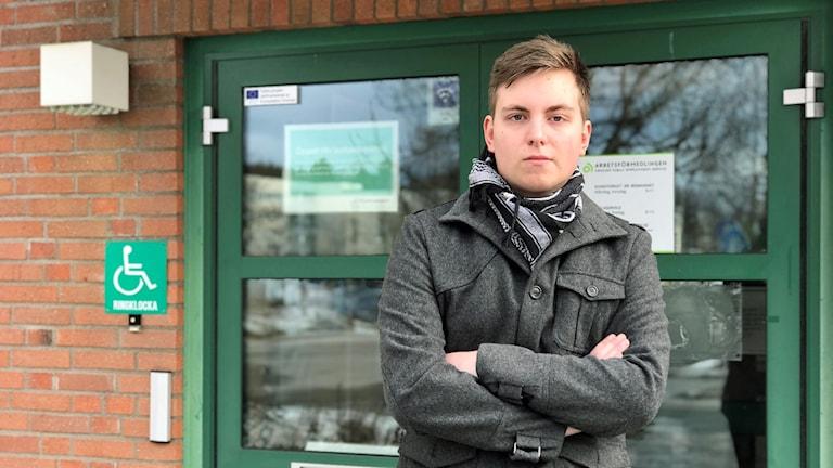 19-årige Liam Kjerp är arbetssökande i Ånge.