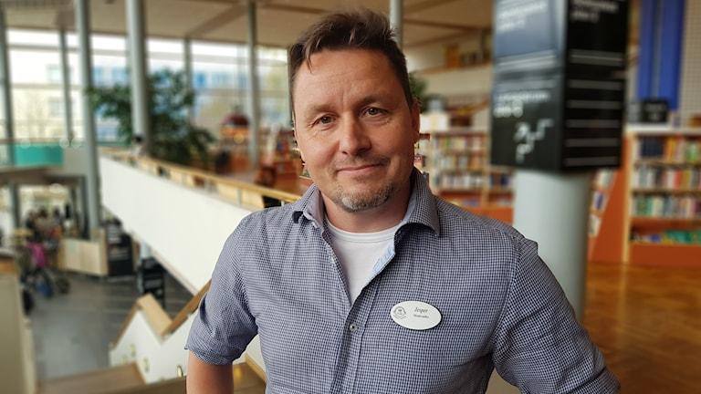 Lärare Jesper Moderatho, lärare Härnösands gymnasium