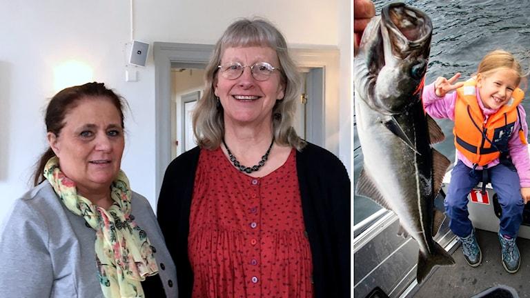 Bildkollage. Till vänster: Ingela Dahlin och Monica Sundström. Foto: Ulla Öhman/Sveriges Radio och Gorm Kallestad/NTB