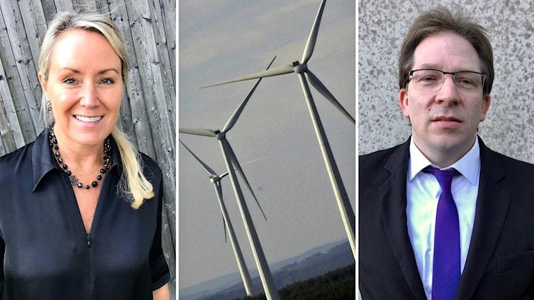 Pamela Lundin är Sverigechef för Enercon som köpt  vindkraftparken Stor-Skälsjön (62 verk, klart 2022)av Robert Kalcik bakom bolaget Timrå Wind.