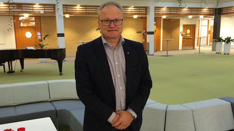 Örnsköldsviks ena kommunalråd Glenn Nordlund (S) om planer på ett bioraffinaderi i Domsjö