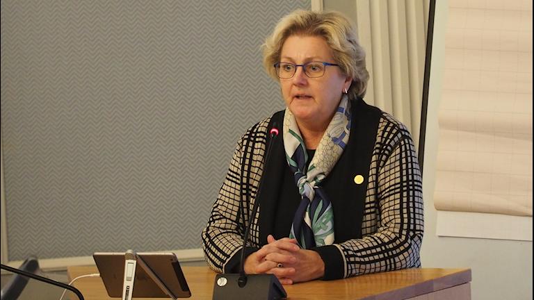 Lena Asplund (M) region Västernorrland