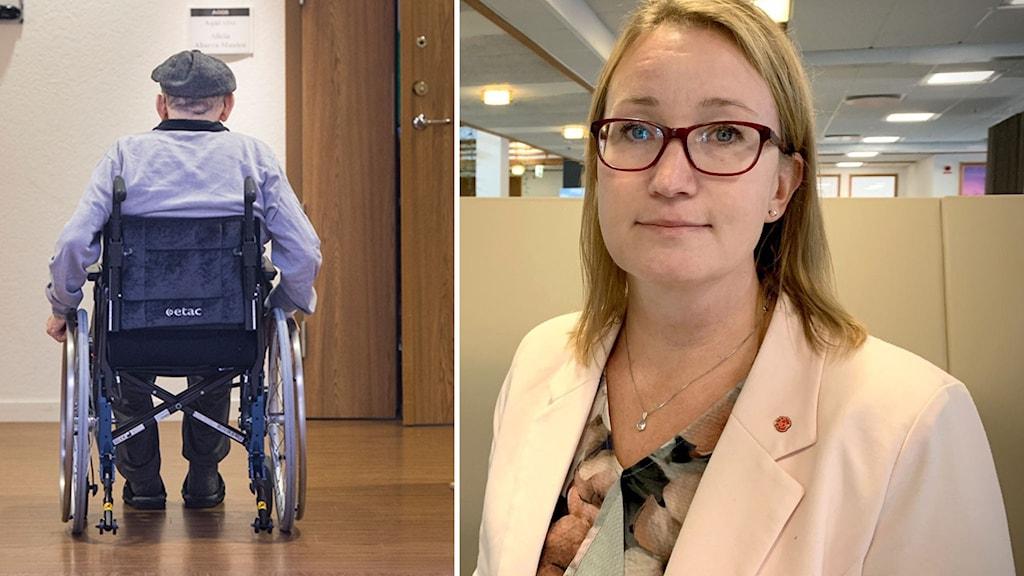 Anna Sundberg(S) ordförande i omsorgsnämnden i Örnsköldsvik.