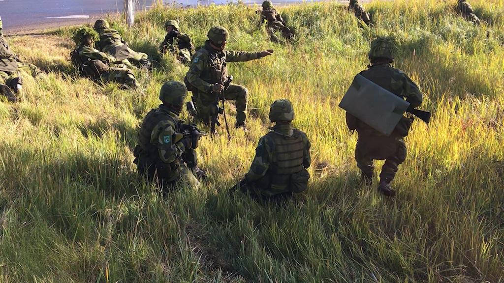 hemvärnet medelpad bataljon övning
