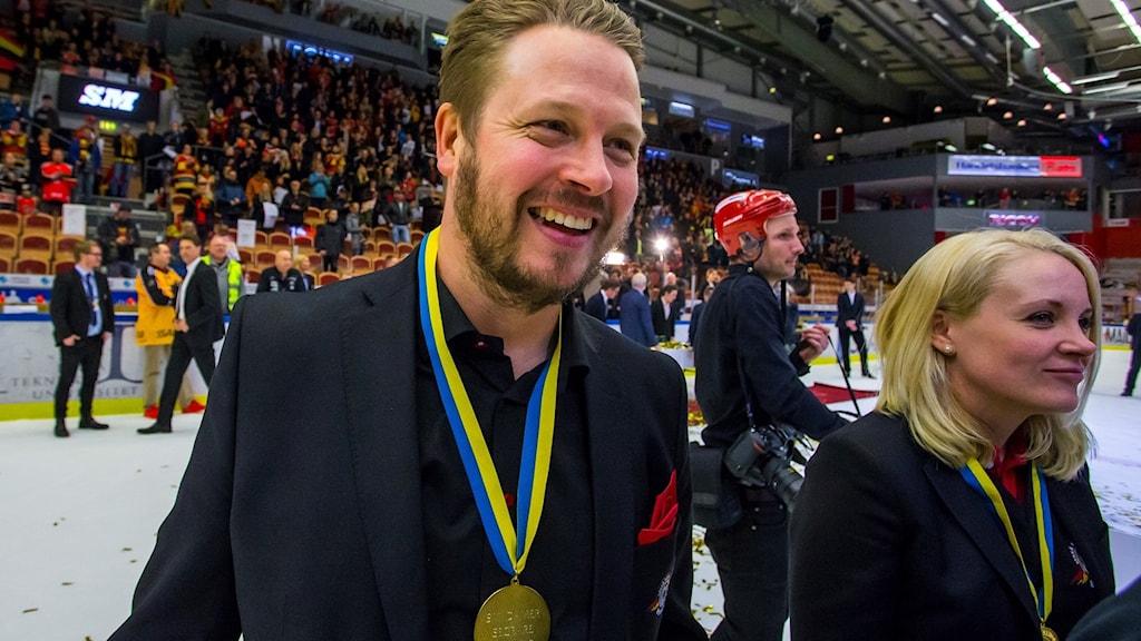 Fredrik Glader efter SM-guld