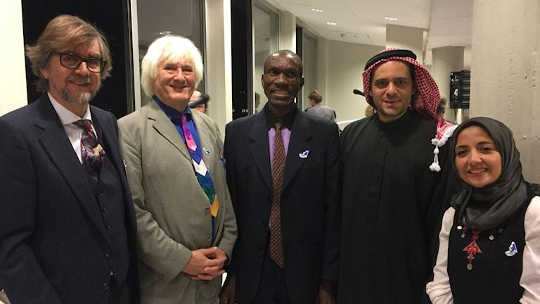 Tre vinnande projekt Hard Rain och från Zimbabwe och Jordanien. Foto Dag Jonzon