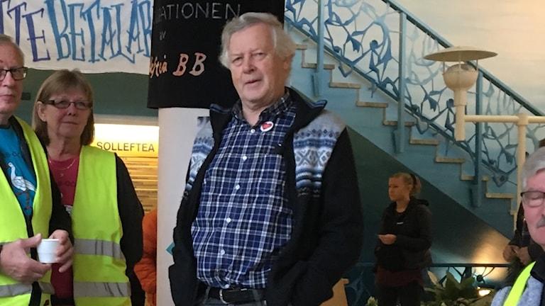 Nils-Gunnar Molin. Foto Ulla Öhman