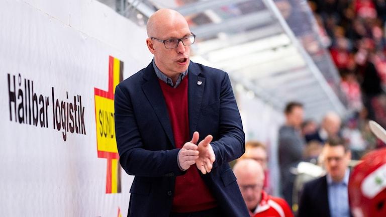 Fredrik Andersson fortsätter som huvudtränare i Timrå IK.