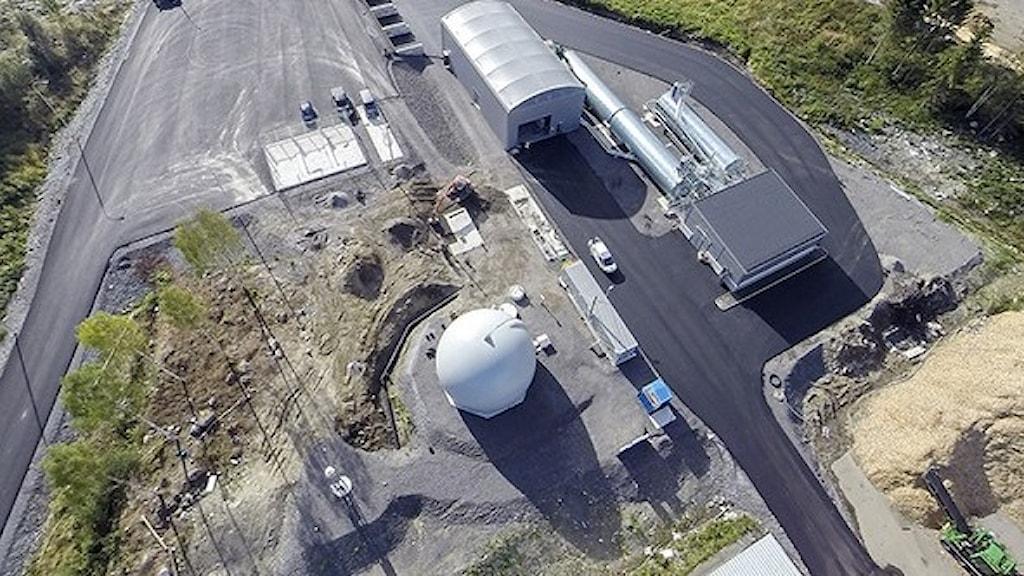 Hemabs biogasanläggning i Härnösand