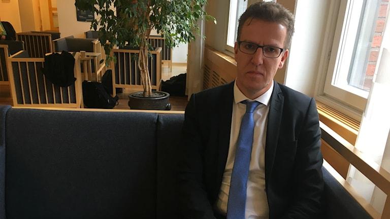 Advokaten Magnus Näsholm