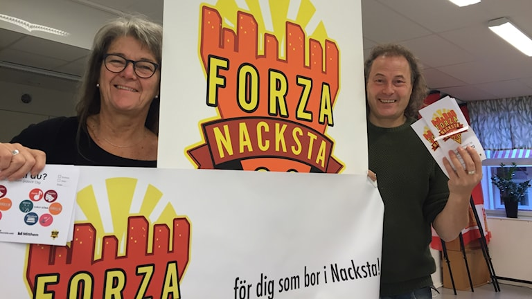Christine Strömberg och Yamando Pontvik