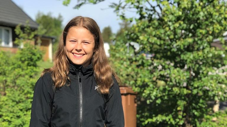 Idrottstalangen Tove Eriksson, 15 år.